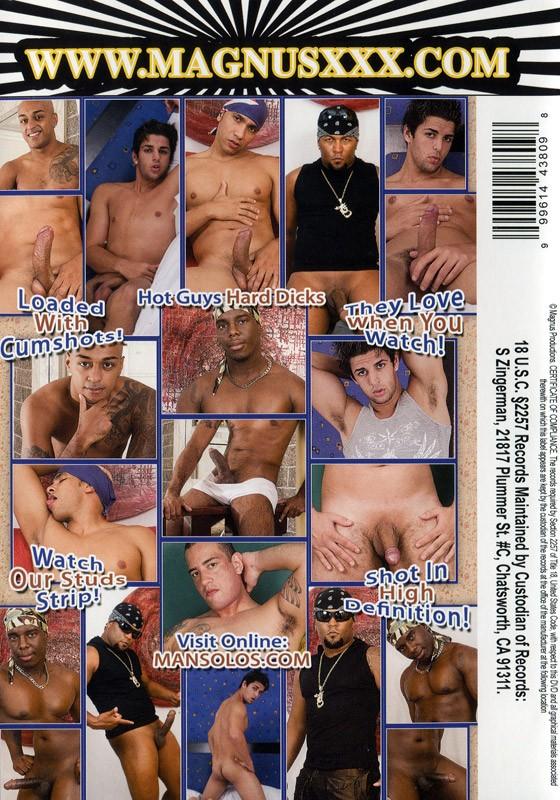 Straight Guys Jerking 4 DVD - Back