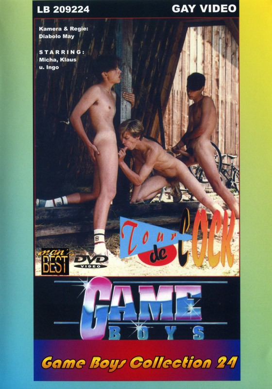 Game Boys Collection 24 - Tour De Cock + Wasserfloehe DVD - Front