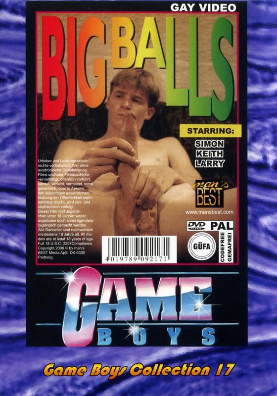 Game Boys Collection 17 - Natur Burschen + Big Balls DVD - Back