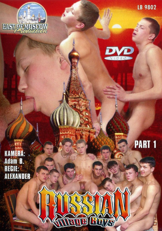 Russian Village Boys 1 DVD - Front