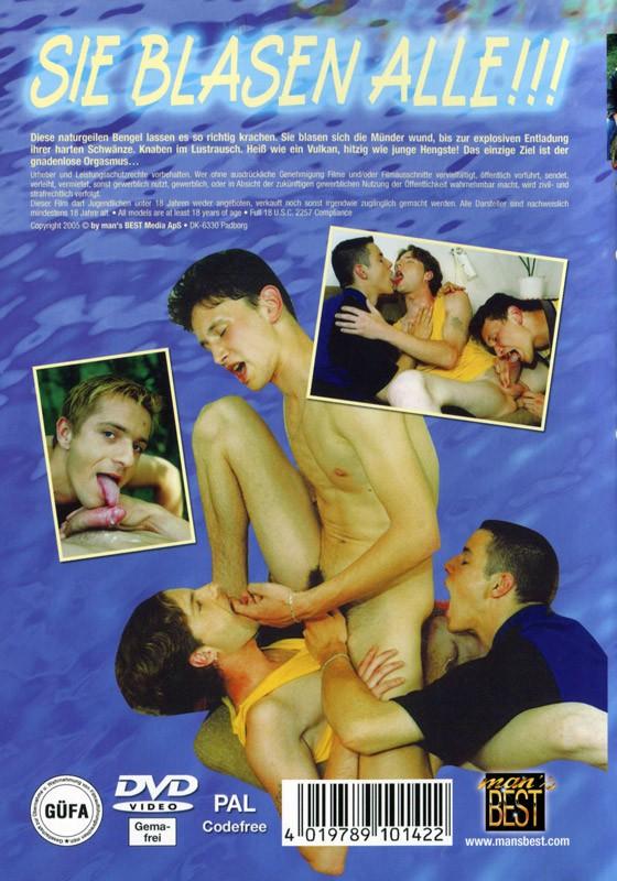 Sie Blasen Alle! DVD - Back