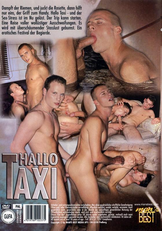 Hallo Taxi DVD - Back