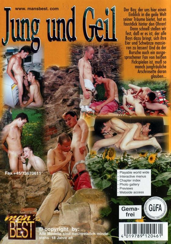 Jung und Geil DVD - Back