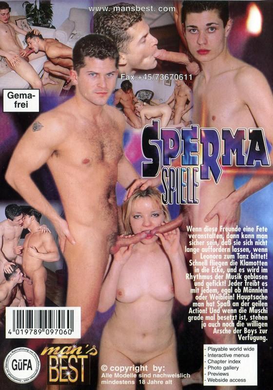 Sperma Spiele DVD - Back
