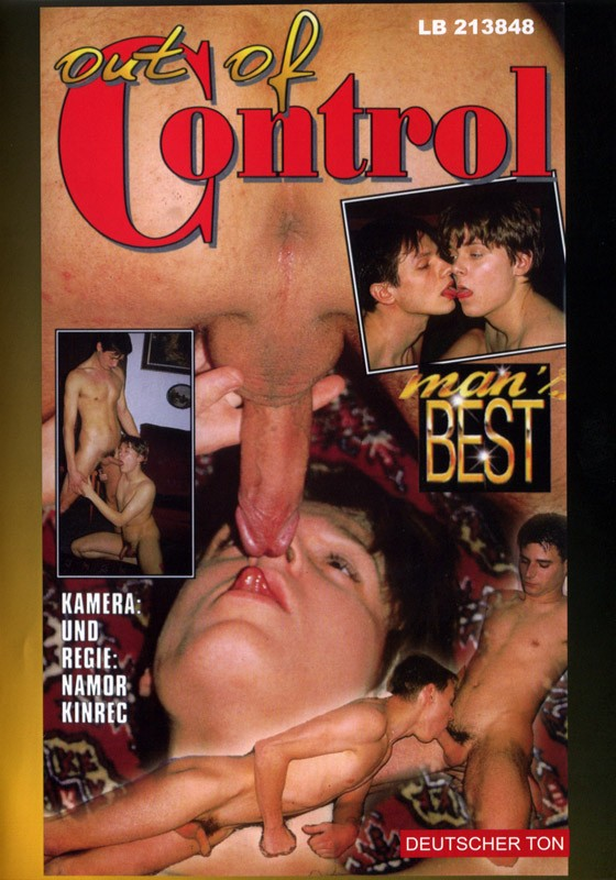Out of Control (Man's Best) DVD - Front