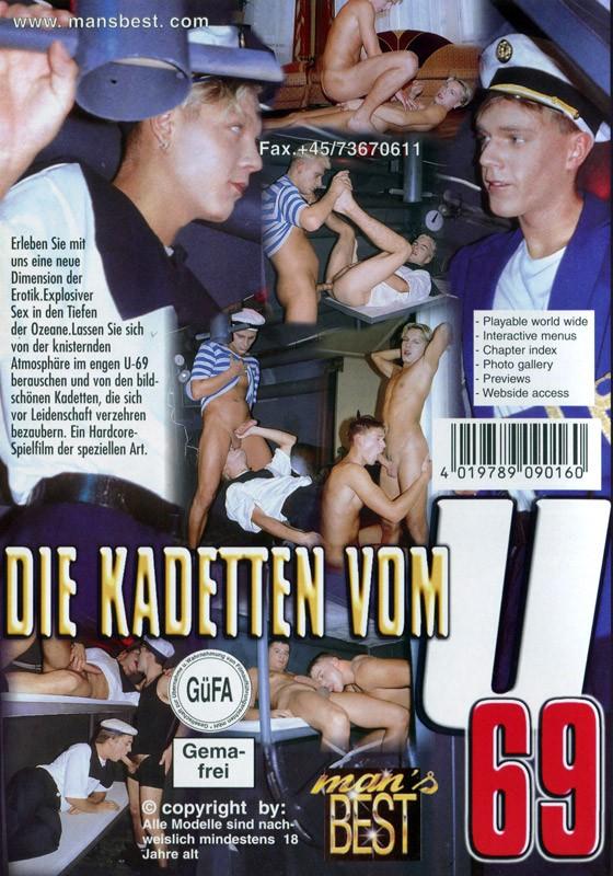 Die Kadetten vom U69 DVD - Back