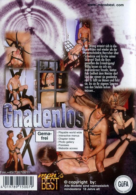 Gnadenlos DVD - Back