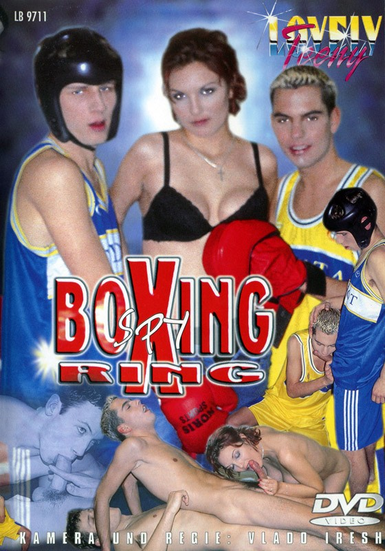 Boxing Ring Spy DVD - Front