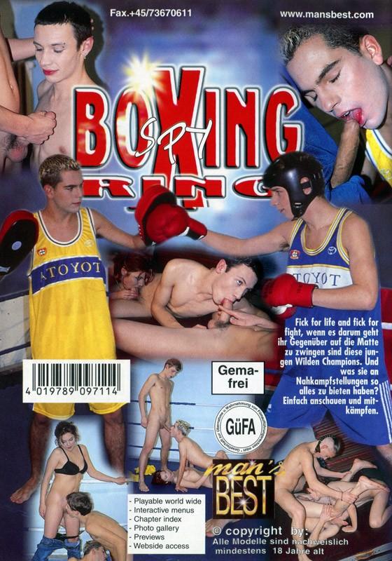 Boxing Ring Spy DVD - Back