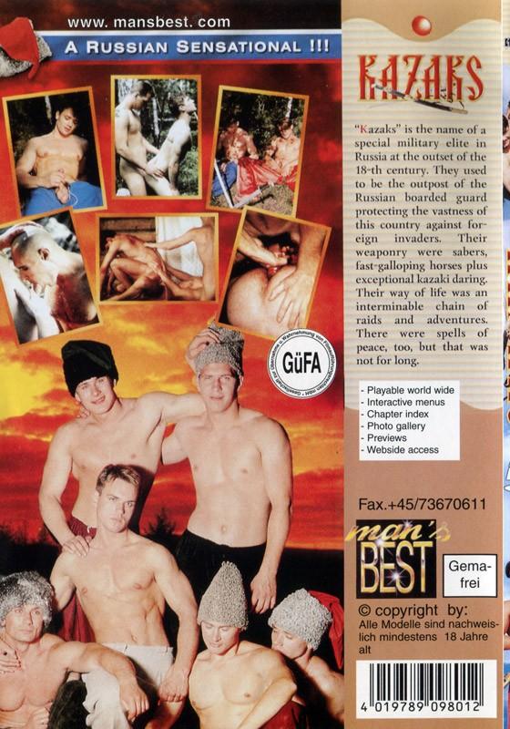 Kazaks DVD - Back