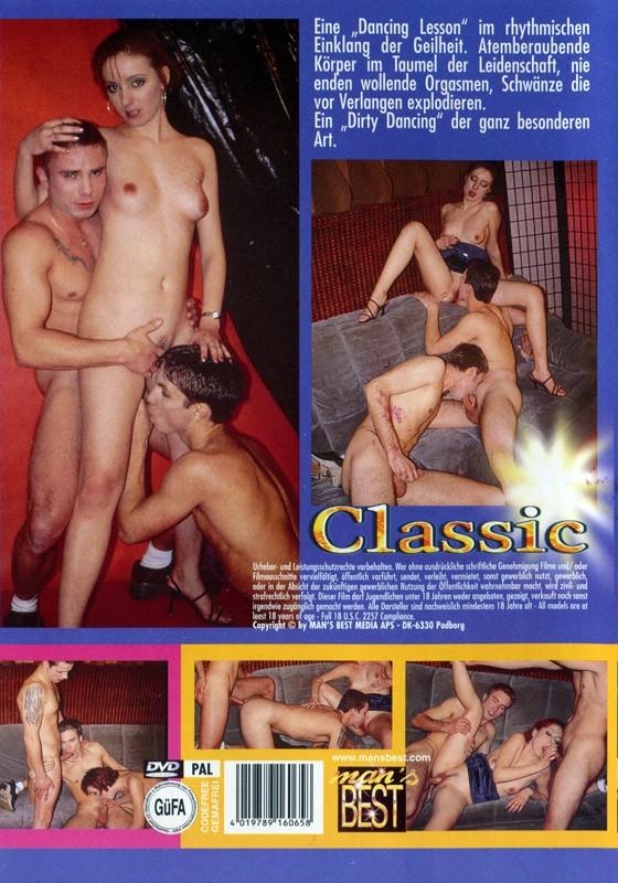 Dancing Lesson DVD - Back