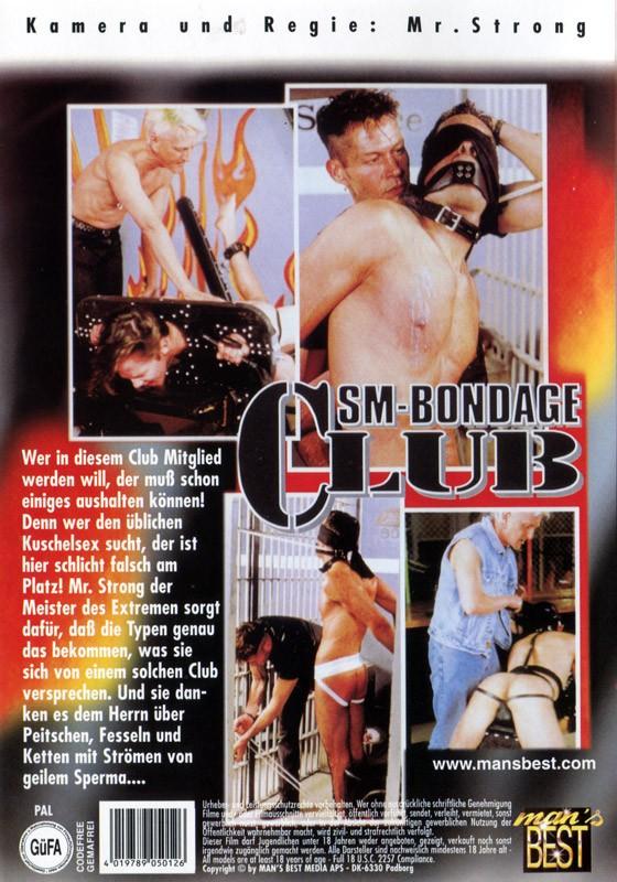 SM Bondage Club 1 DVD - Back