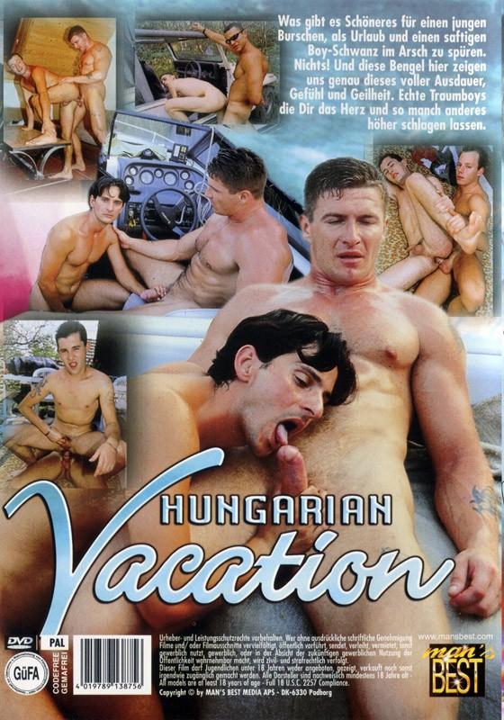Hungarian Vacation DVD - Back