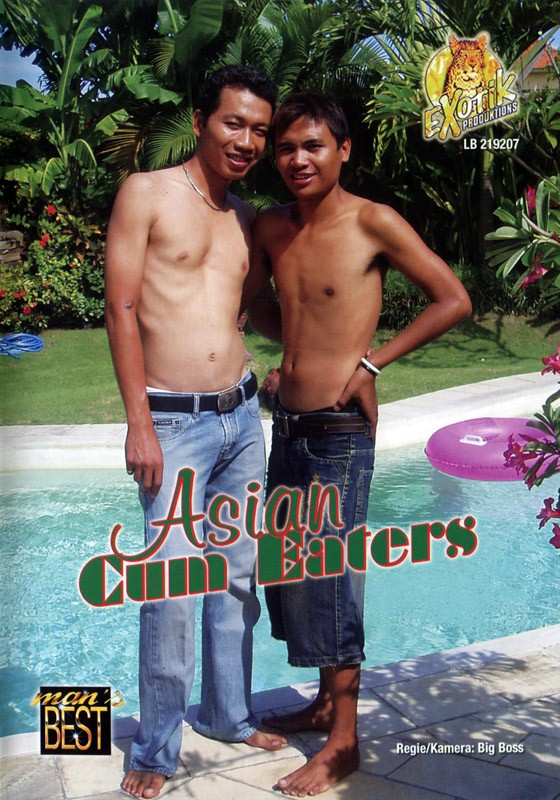 Asian Cum Eaters DVD - Front