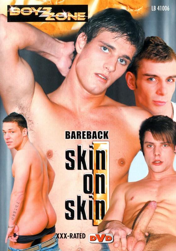Bareback Skin On Skin DVD - Front