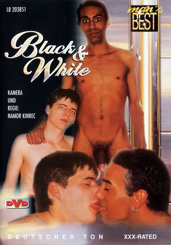 Black And White DVD - Front
