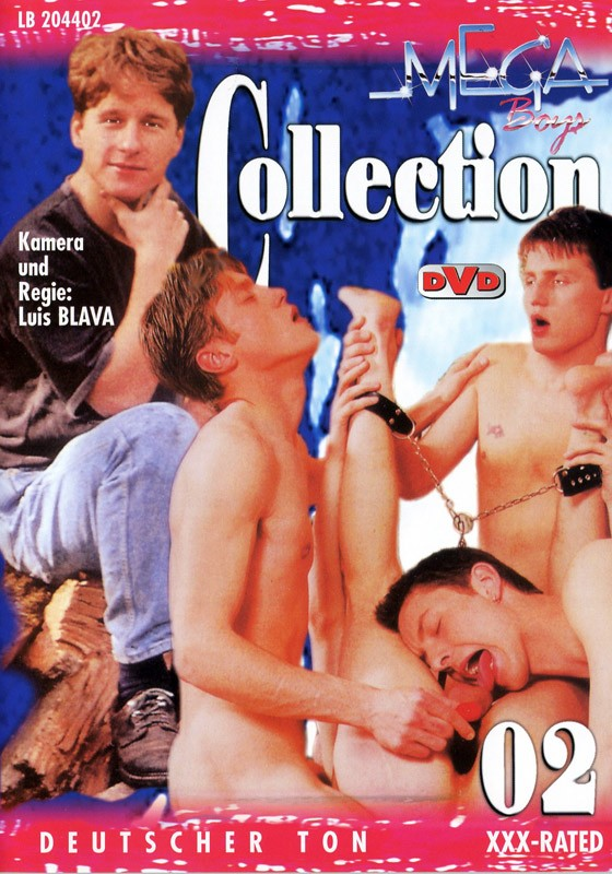 Mega Boys Collection 02 DVD - Front