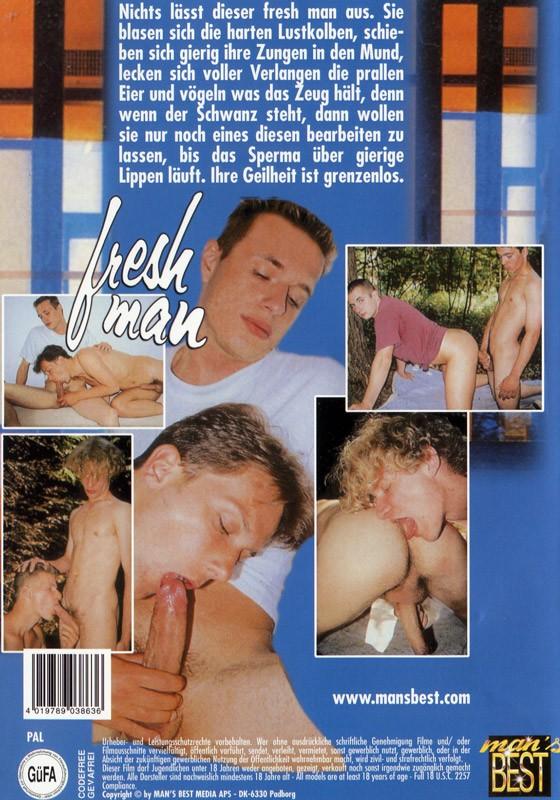 Fresh Man DVD - Back