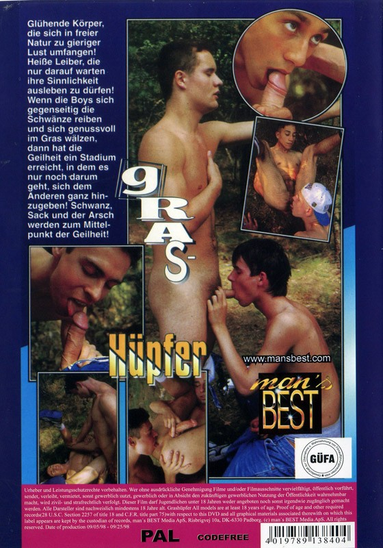 Grashuepfer DVD - Back