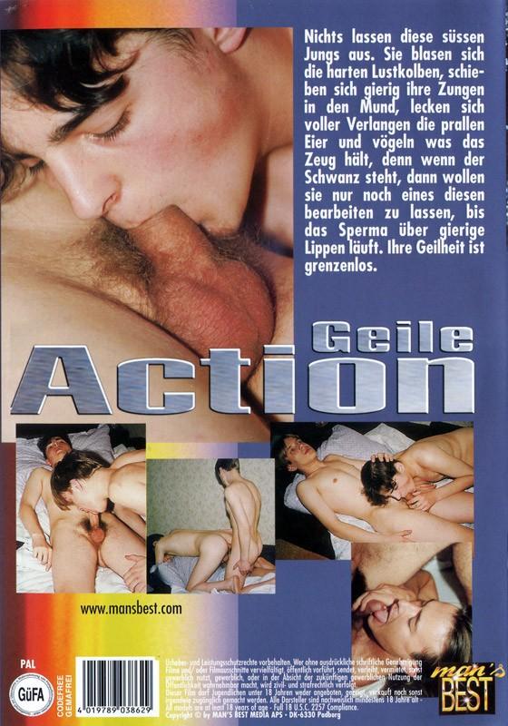 Geile Action DVD - Back