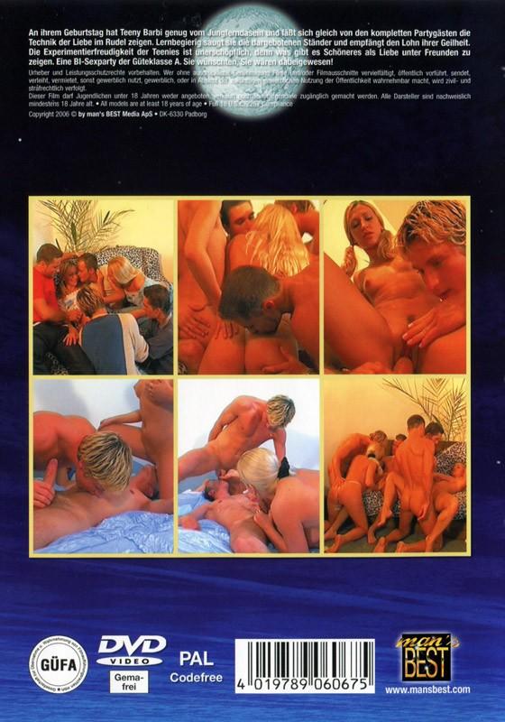 Birthday Heap - Bi Sex Action DVD - Back