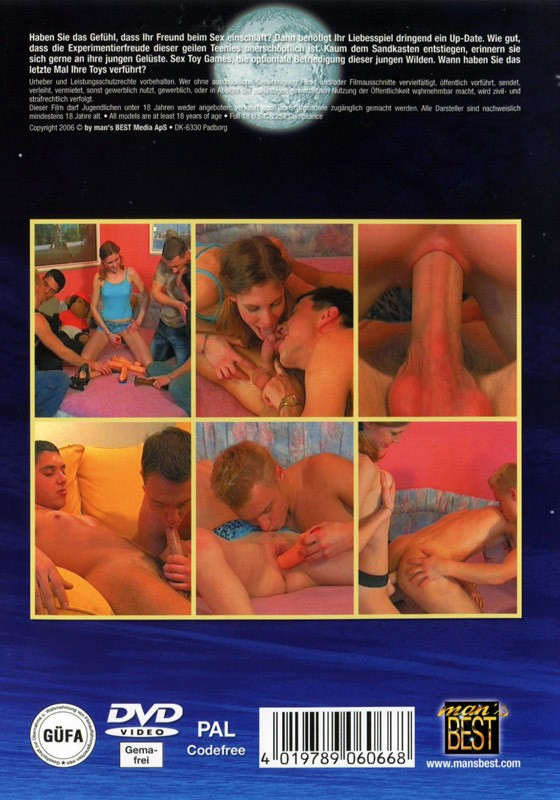 Sex Toy Games - Bi Sex Action DVD - Back