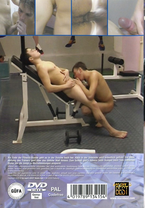 Gym Flirtation DVD - Back