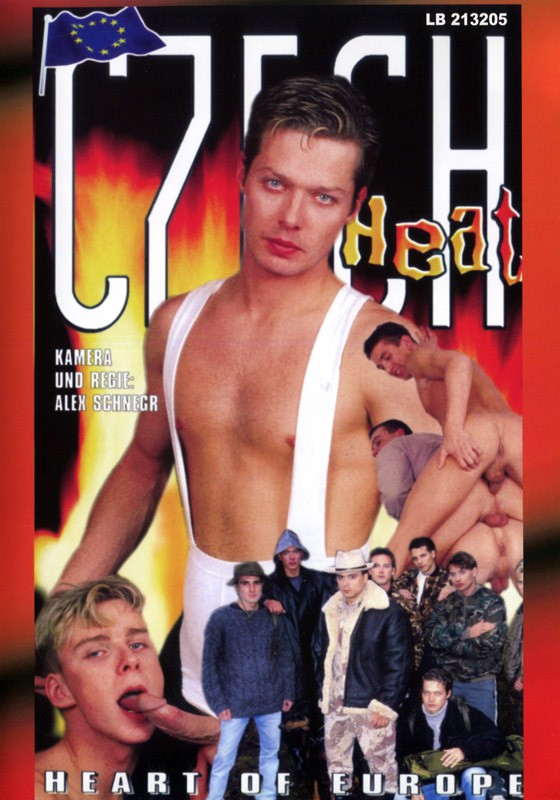 Czech Heat DVD - Front