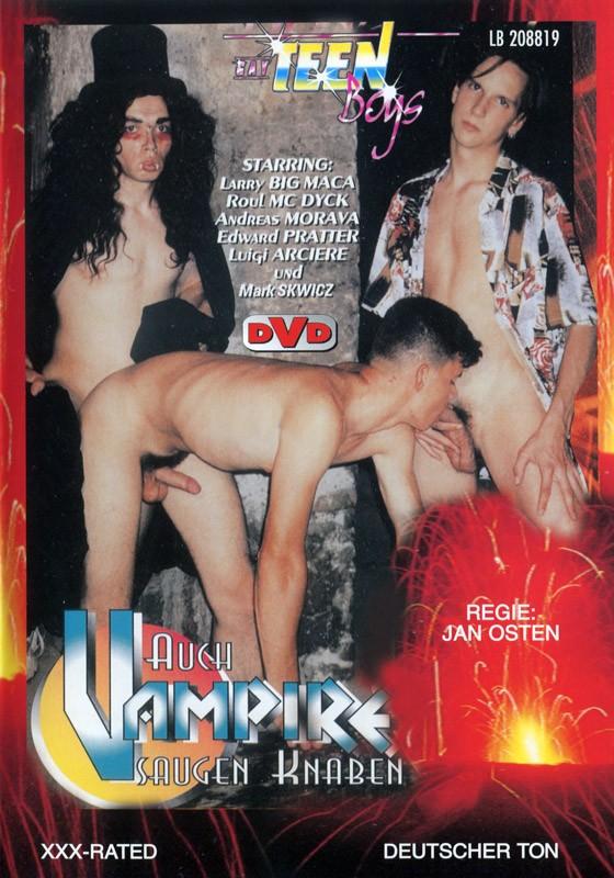 Auch Vampire Saugen Knaben DVD - Front