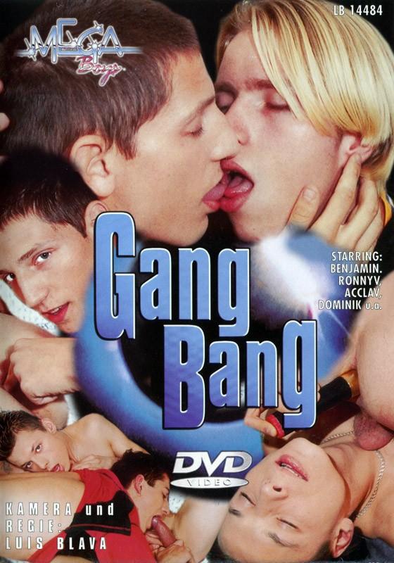 Gang Bang (Mega Boys) DVD - Front