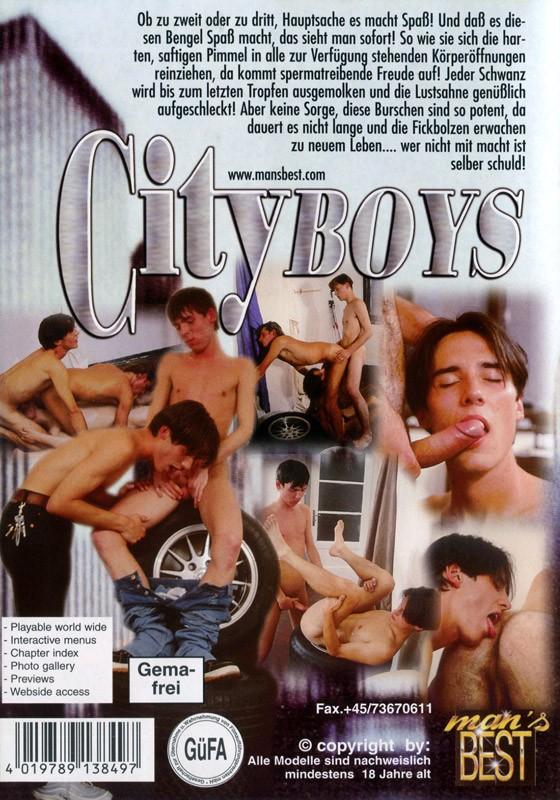 City Boys DVD - Back