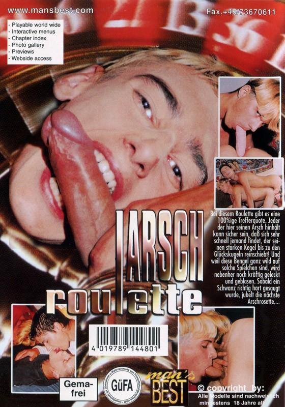 Arsch Roulette DVD - Back