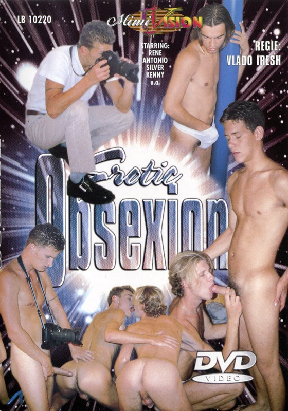 Erotic Obsexion DVD - Front