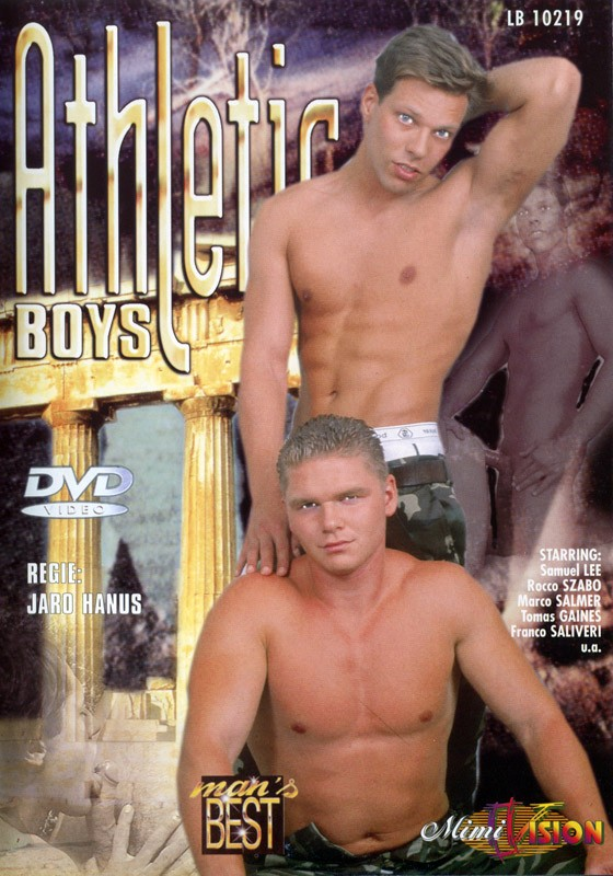 Athletic Boys DVD - Front