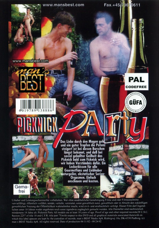 Picknick Party DVD - Back