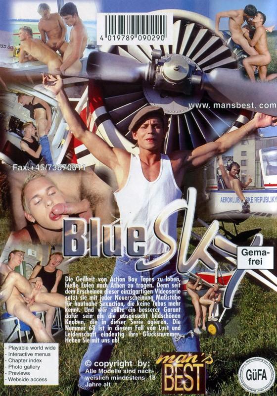 Blue Sky DVD - Back