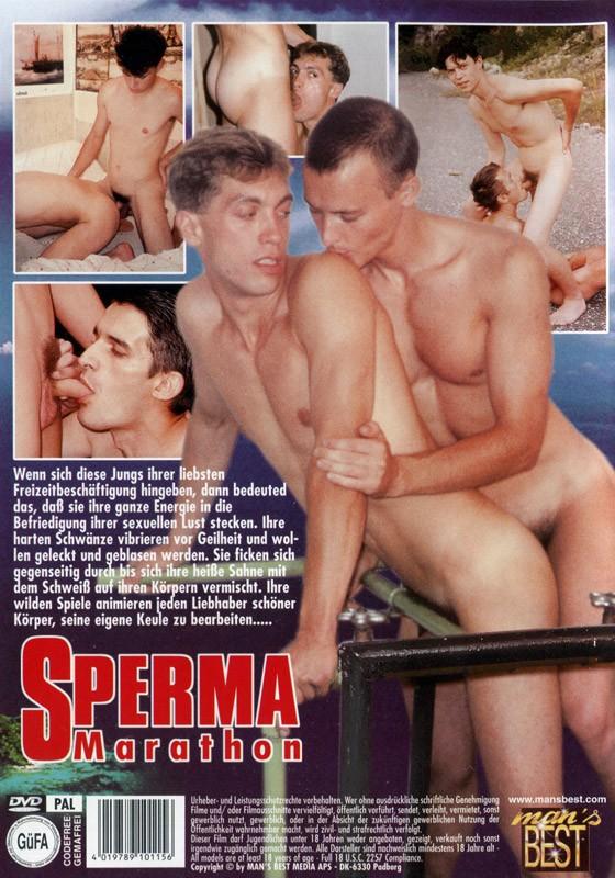 Sperma Marathon DVD - Back