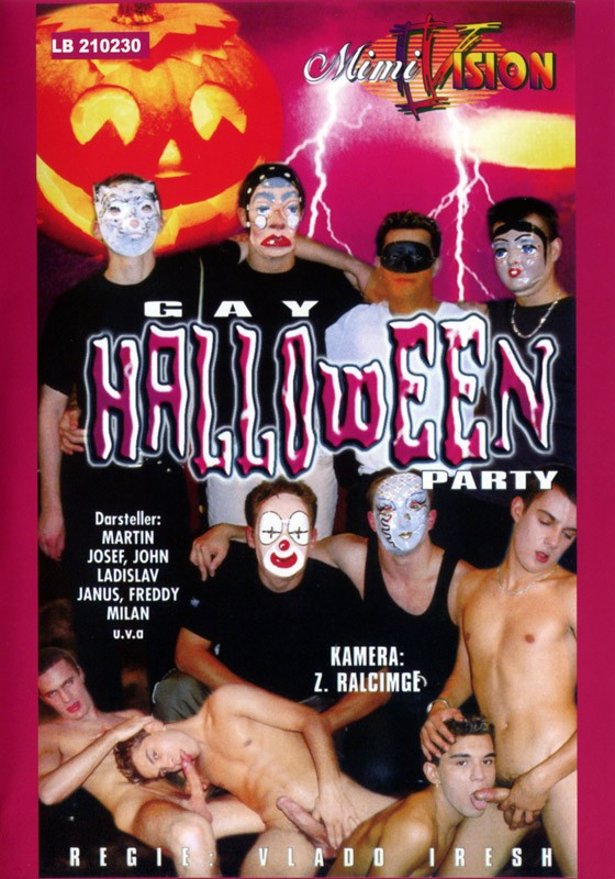 Gay Helloween Party DVD - Front