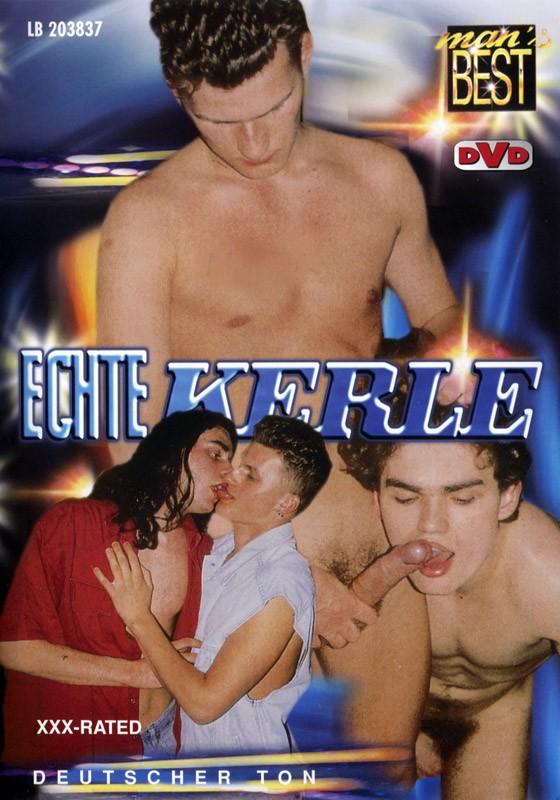 Echte Kerle DVD - Front