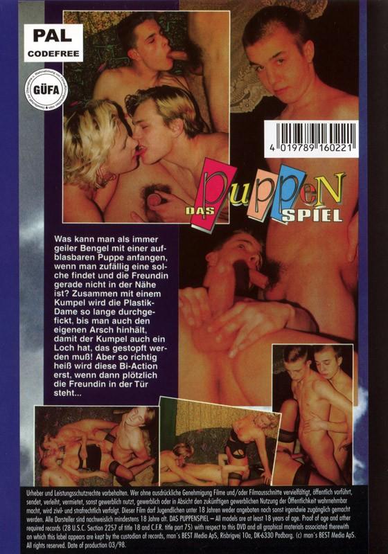 Das Puppenspiel DVD - Back