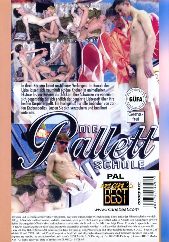 Die ballettschule DVD - Back