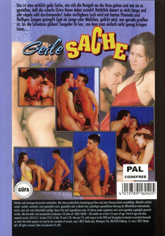 Geile Sache DVD - Back