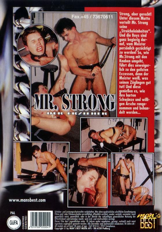 Mr Strong - Der Erzieher DVD - Back