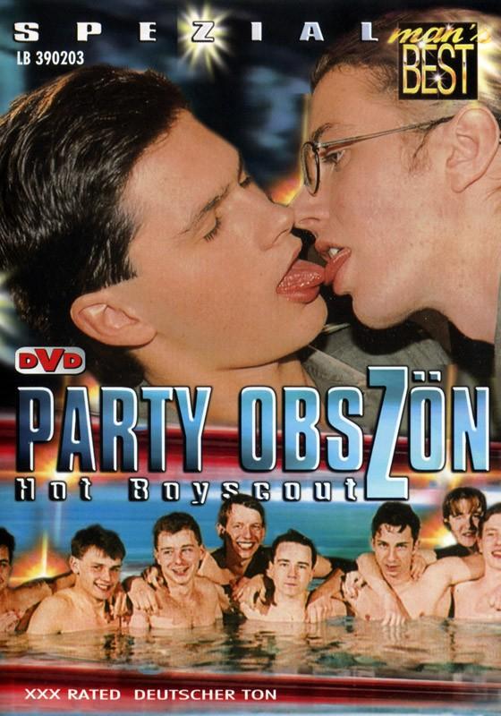 Party Obszön Hot Boyscout DVD - Front