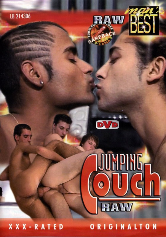 Jumping Couch Raw DVD - Front