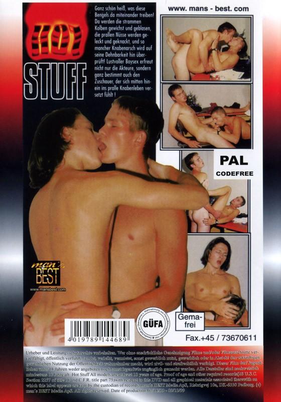 Hot Stuff DVD (Mega Boys) - Back