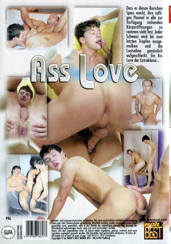 Ass Love DVD - Back