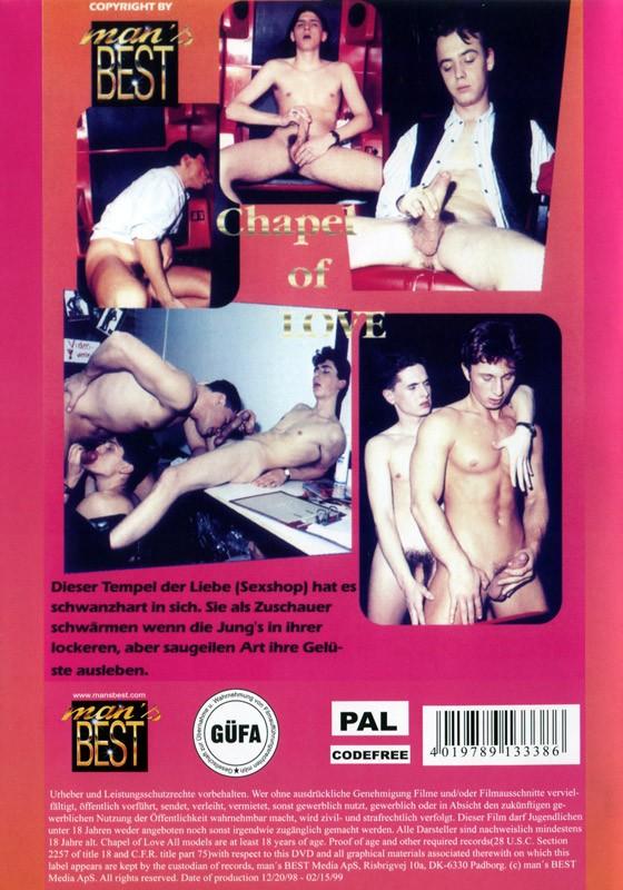 Chapel Of Love DVD - Back