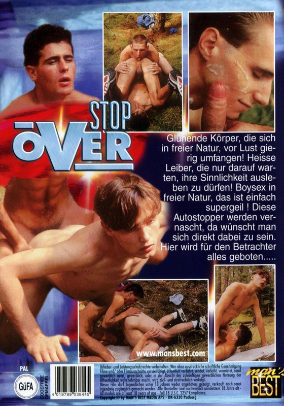 Stop Over DVD - Back