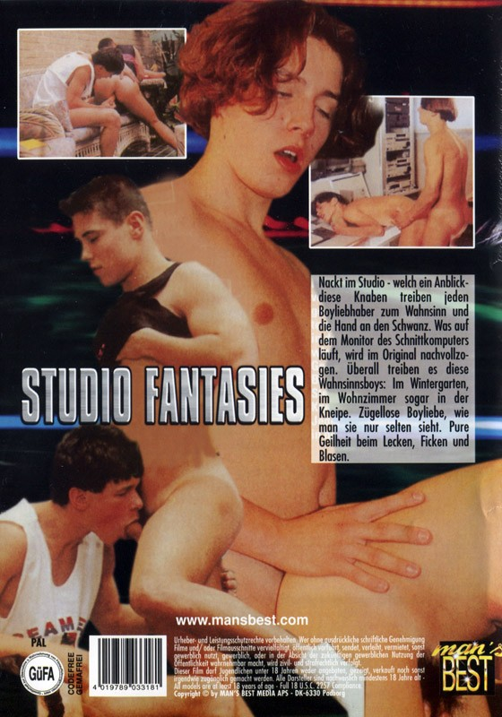Studio Fantasies DVD - Back